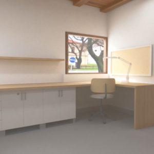Návrh malej kancelárie